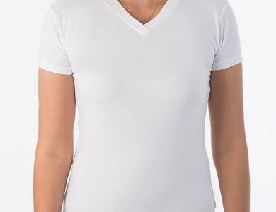 חולצת לייקרה נשים שרוול קצר