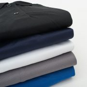 חולצת דרייפיט צווארון פולו שרוול קצר