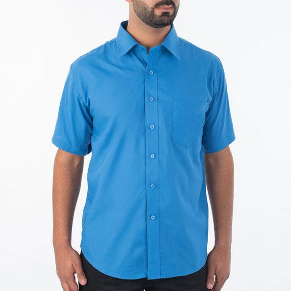 חולצת אלגנט גבר שרוול קצר