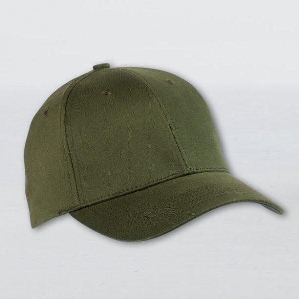כובע כותנה מוברשת 6 פאנל דגם רום